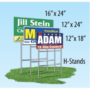 Double Sided Yard Sign (12
